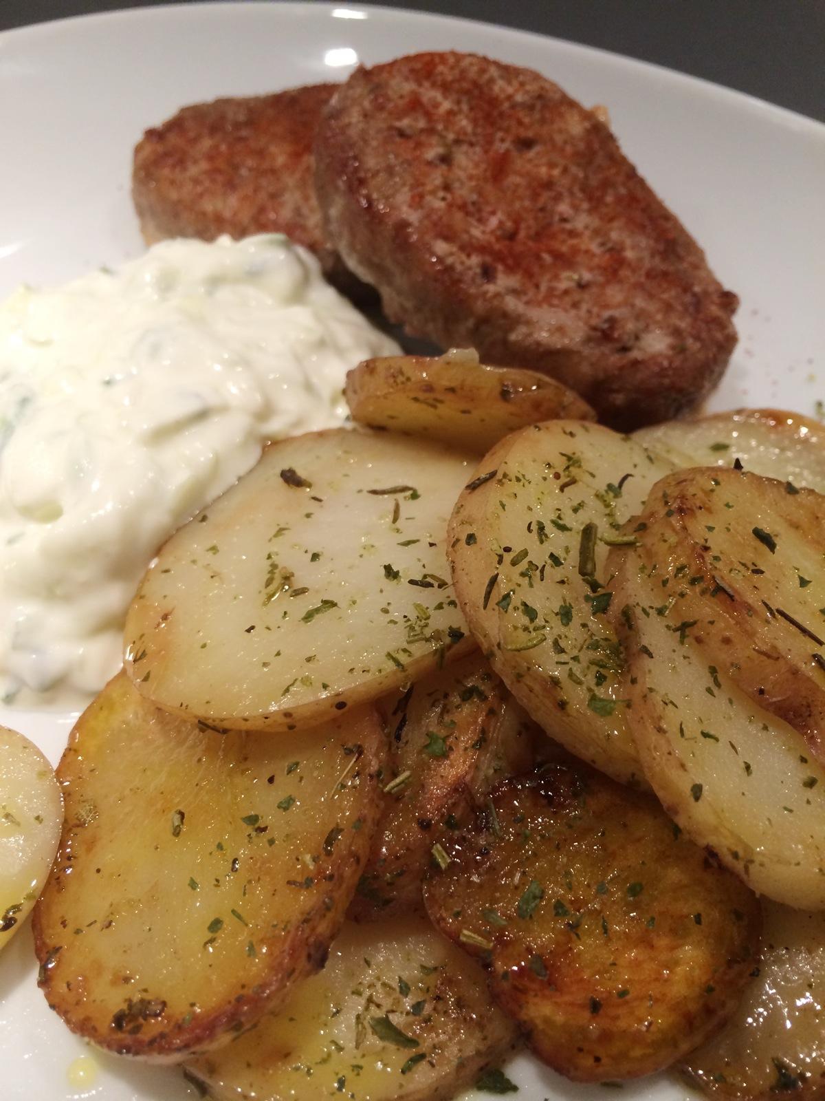 grekisk potatis i ugn