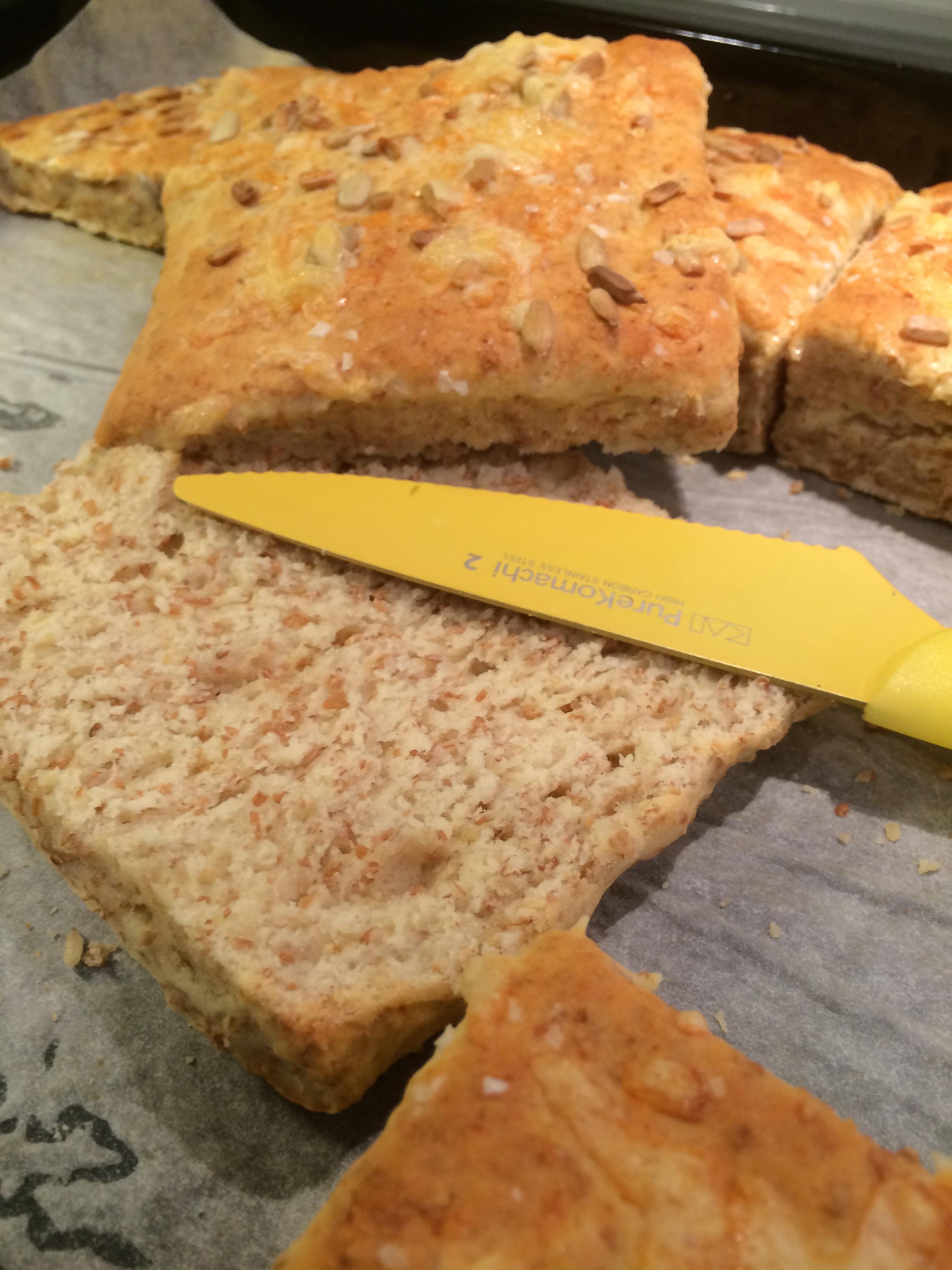 scones med flytande margarin