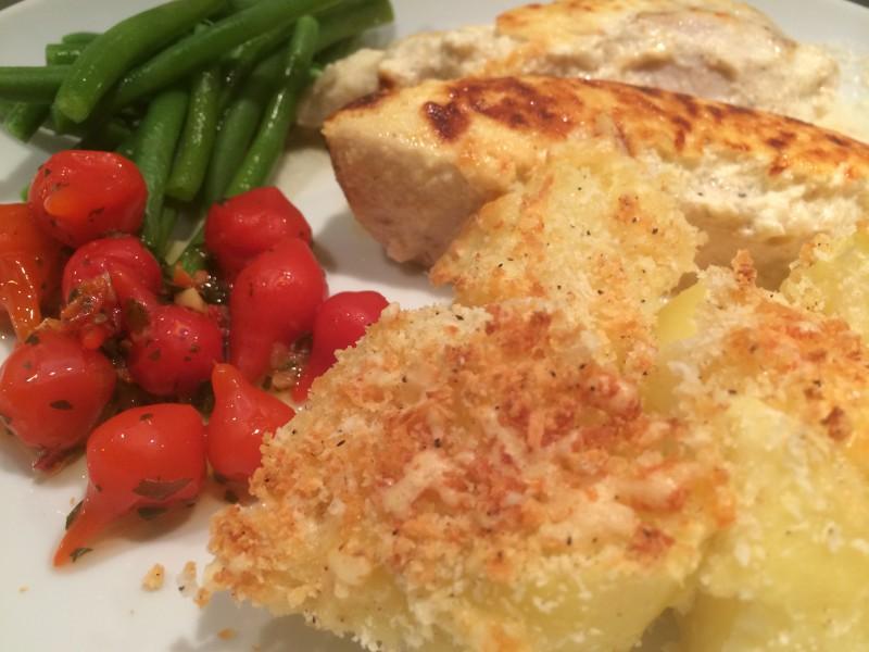 Frasig parmesanpotatis