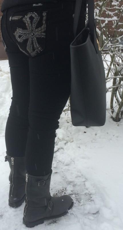 Ute i snörusket...