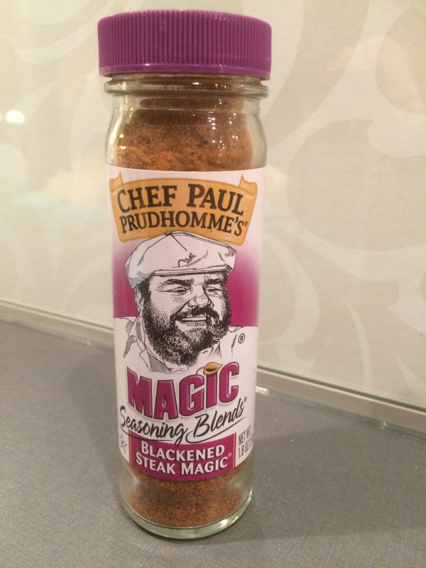 Min krydda: Blackened Steak Magic. Ersätter salt, peppar och all andra örter och kryddor. It´s a spice rack in a bottle!