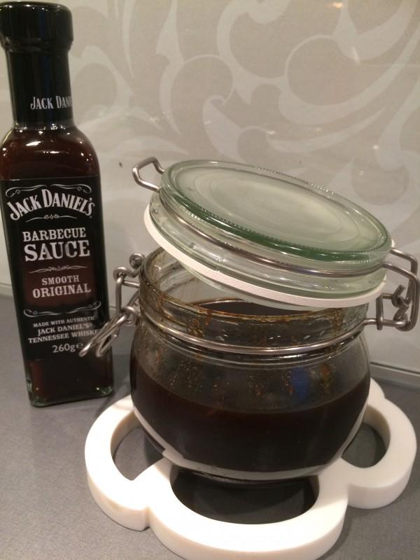 Jack Daniels glaze